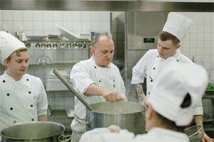 Foreningen Kantine Køkken - Hotel- og Restaurantskolen - undervisning
